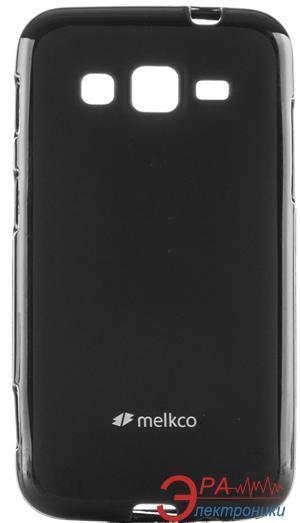 Чехол Melkco Samsung I8580 Poly Jacket TPU Black (SSGC85TULT2BKMT)