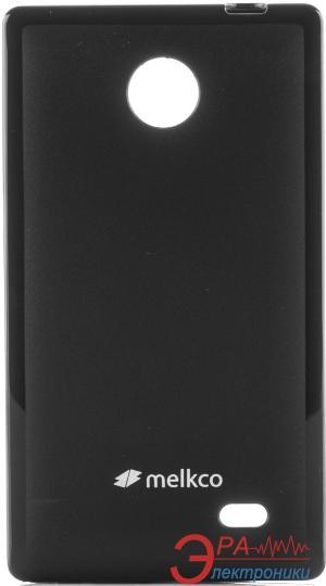 Чехол Melkco Nokia X/X+ Poly Jacket TPU Black (NKNKNXTULT2BKMT)