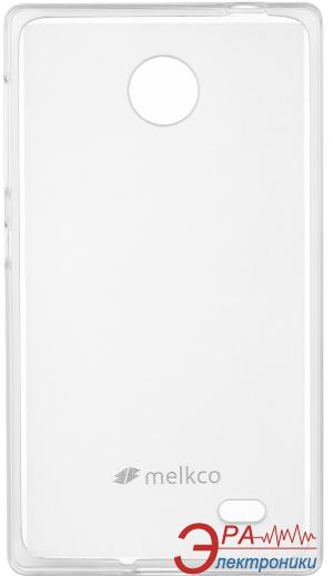 Чехол Melkco Nokia X/X+ Poly Jacket TPU Transparent (NKNKNXTULT2TSMT)