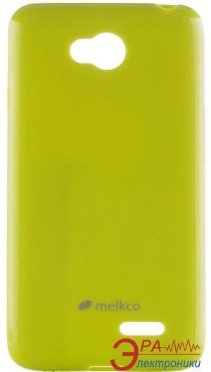 Чехол Melkco LG L70 Dual/D325 Poly Jacket TPU Yellow (LGDS70TULT3YWPL)