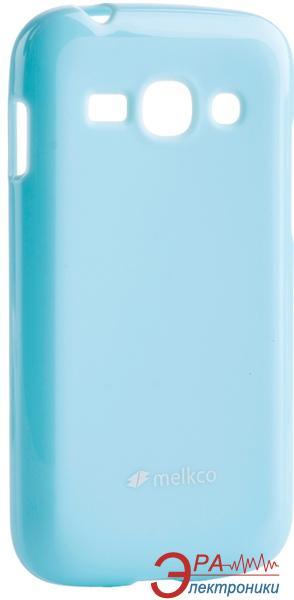 Чехол Melkco Samsung S7270/7272 Poly Jacket TPU Blue (SSAC72TULT3BEPL)