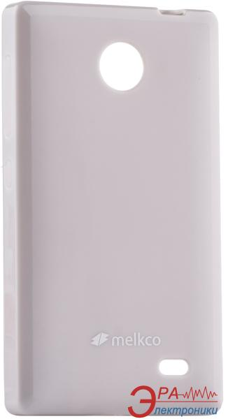 Чехол Melkco Nokia X/X+ Poly Jacket TPU Grey (NKNKNXTULT3GYPL)