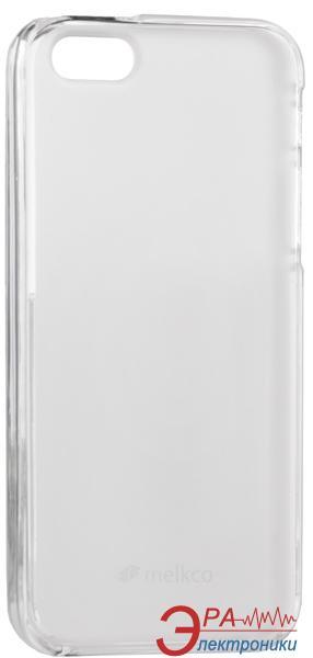 Чехол Melkco iPhone 5/5S Poly Jacket TPU Transparent (APIPO5TULT2TSMT)
