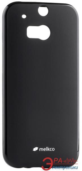 Чехол Melkco HTC One M8 Poly Jacket TPU Black (O2O2M8TULT2BKMT)