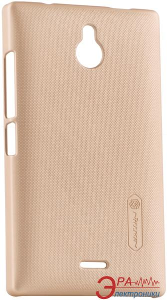 Чехол Nillkin Nokia X2 - Super Frosted Shield (Gold) (6168705)
