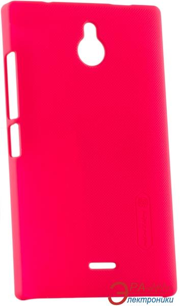 Чехол Nillkin Nokia X2 - Super Frosted Shield (Red) (6168706)