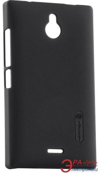 Чехол Nillkin Nokia X2 - Super Frosted Shield (Black) (6168707)