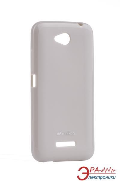 Чехол Melkco HTC Desire 616 Poly Jacket TPU Gray (O2D61TULT2GYPL)