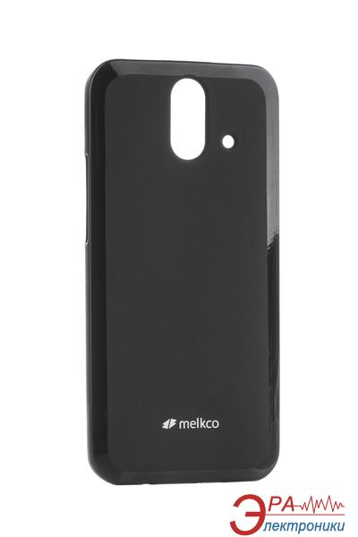 Чехол Melkco HTC One E8 Poly Jacket TPU Black (O2E8ACTULT2BKMT)