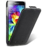 ����� Melkco Samsung G800/S5 mini Jacka Type Black (SSGNS5LCJT1BKLC)