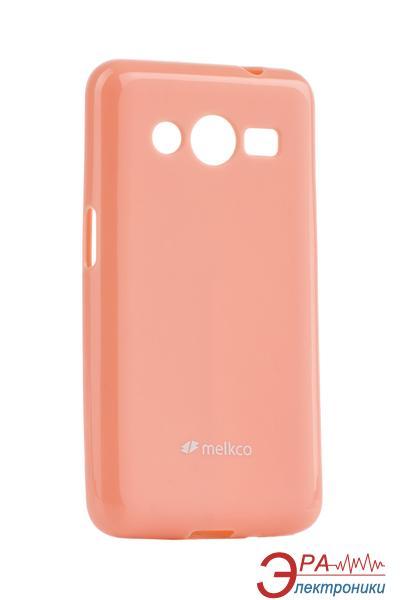 Чехол Melkco Samsung G355/Core 2 Poly Jacket TPU Pink (SSGC2DTULT2PKPL)