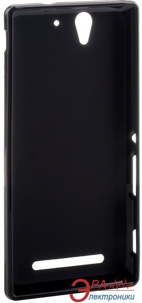 Чехол Melkco Sony Xperia C3 Poly Jacket TPU Black (SEXPC3TULT2BKMT)