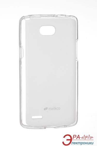 Чехол Melkco LG L80 Dual/D380 Poly Jacket TPU Transparent (LGD370TULT2TSMT)