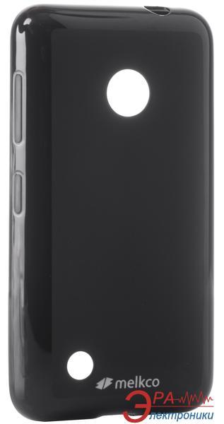 Чехол Melkco Nokia Lumia 530 Poly Jacket TPU Black
