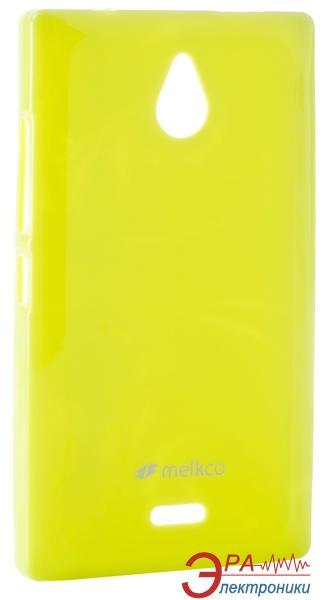 Чехол Melkco Nokia X2 Poly Jacket TPU Yellow (NKNKX2TULT2YWPL)