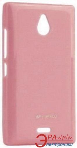 Чехол Melkco Nokia X2 Poly Jacket TPU Pink (NKNKX2TULT2PKPL)