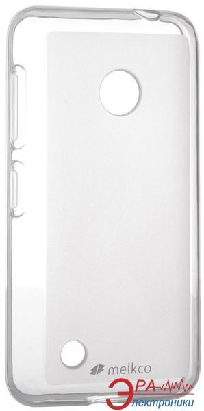Чехол Melkco Nokia Lumia 530 Poly Jacket TPU Transparent (NKL530TULT2TSMT)