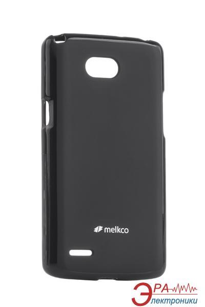 Чехол Melkco LG L80 Dual/D380 Poly Jacket TPU Black (LGD370TULT2BKMT)