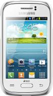 Чехол Samsung Protective Case Cover for S6312 Galaxy Young - White (EF-PS631BWEGWW)