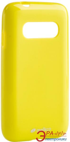 Чехол Melkco Samsung G310/Ace 4 Poly Jacket TPU Yellow (SSAC31TULT2YWPL)