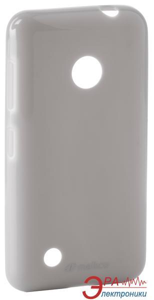 Чехол Melkco Nokia Lumia 530 Poly Jacket TPU Gray (NKL530TULT2GYPL)
