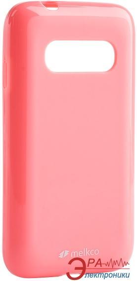 Чехол Melkco Samsung G310/Ace 4 Poly Jacket TPU Pink (SSAC31TULT2PKPL)