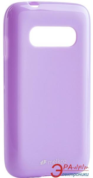 Чехол Melkco Samsung G310/Ace 4 Poly Jacket TPU Purple (SSAC31TULT2PEPL)
