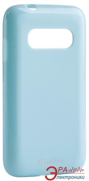 Чехол Melkco Samsung G310/Ace 4 Poly Jacket TPU Blue (SSAC31TULT2BEPL)