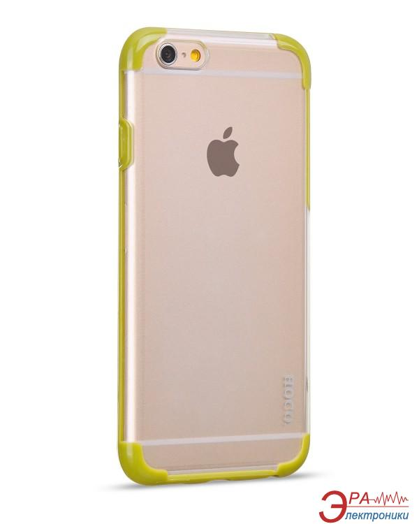 Чехол Hoco for iPhone 6 Double-Color PC+TPU case Green (HI-T034GR)