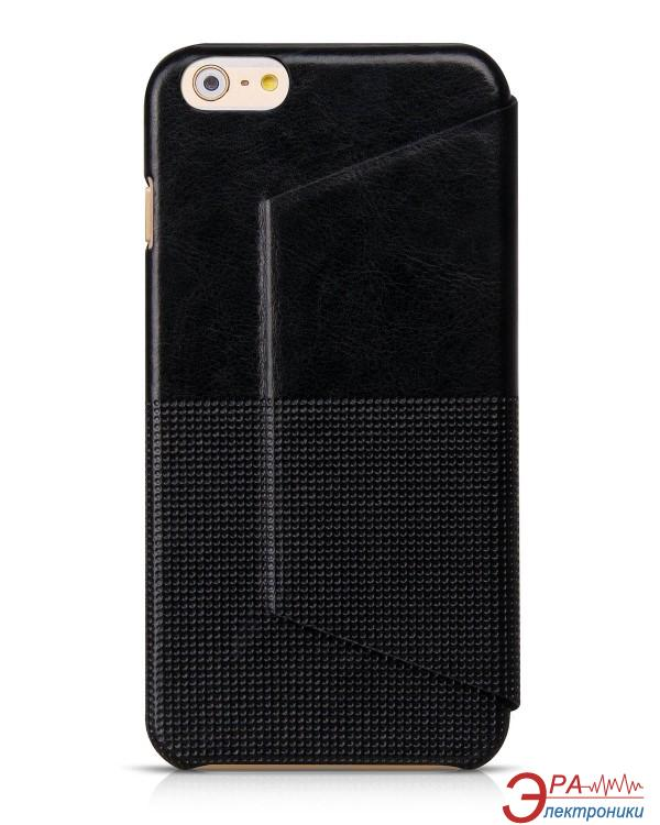 Чехол Hoco for iPhone 6 Plus Crystal Fashion Leather case Black (HI-L081B)