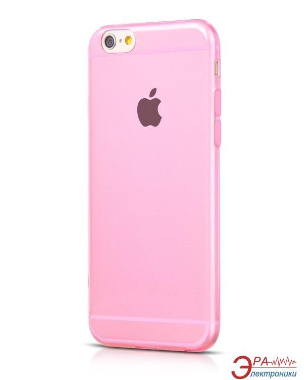 Чехол Hoco for iPhone 6 Light Series TPU case Rose Red (HI-T014RR)