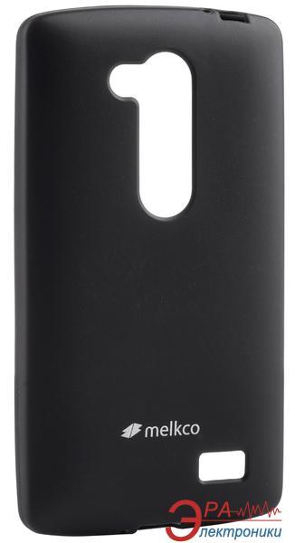 Чехол Melkco LG L70+ Fino/D295 Poly Jacket TPU Black (LGD295TULT2BKMT)