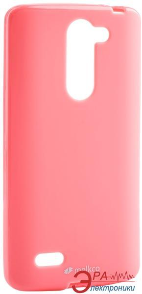 Чехол Melkco LG L80+ Bello/D335 Poly Jacket TPU Pink (LGD335TULT2PKPL)