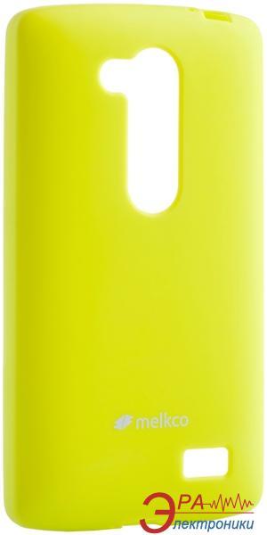 Чехол Melkco LG L70+ Fino/D295 Poly Jacket TPU Yellow (LGD295TULT3YWPL)