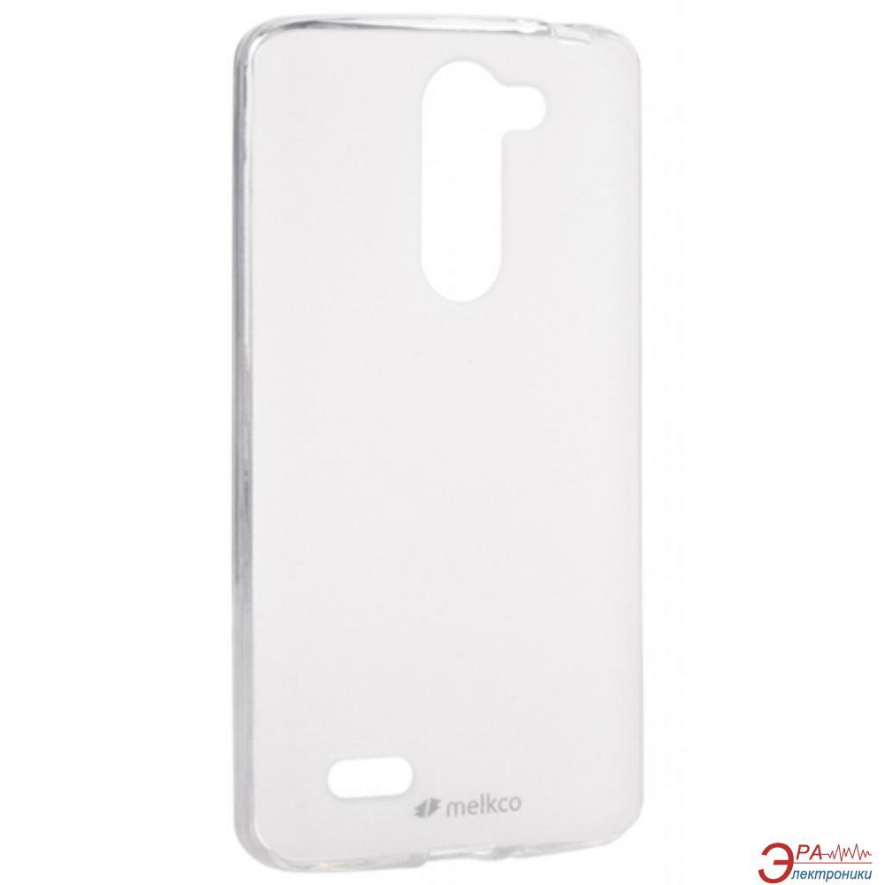 Чехол Melkco LG L80+ Bello/D335 Poly Jacket TPU Transparent (LGD335TULT2TSMT)