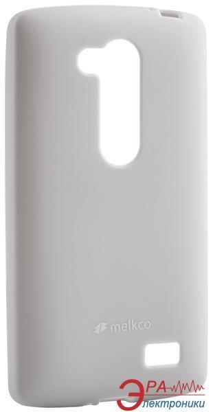 Чехол Melkco LG L70+ Fino/D295 Poly Jacket TPU Gray (LGD295TULT3GYPL)