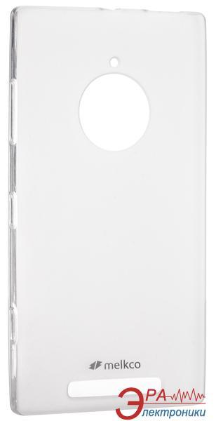 Чехол Melkco Nokia Lumia 830 Poly Jacket TPU Transparent (NKLU83TULT2TSMT)