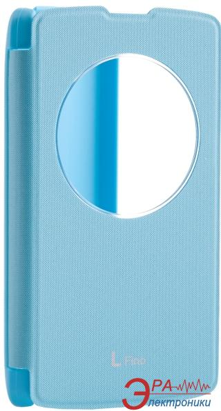 Чехол VOIA LG Optimus L70+ Dual (D295/Fino) - Flip Case Blue