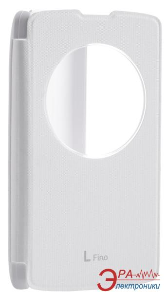 Чехол VOIA LG Optimus L70+ Dual (D295/Fino) - Flip Case White