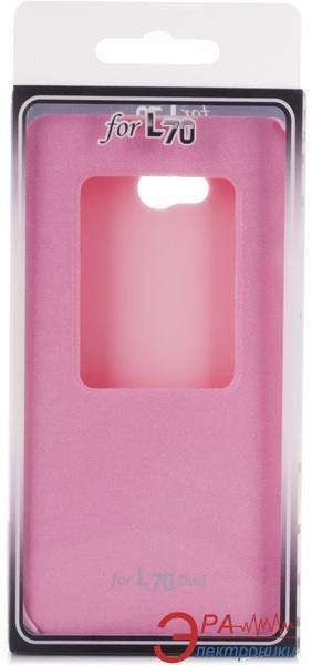 Чехол VOIA LG Optimus L70 Dual (D325) - Flip Case Red
