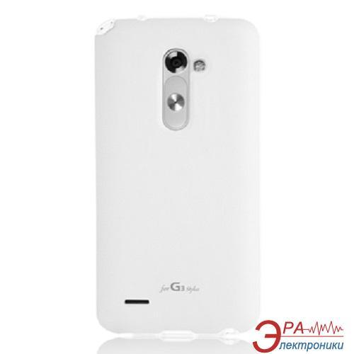 Чехол VOIA LG Optimus G3 Stylus (D690) - Jell Skin White