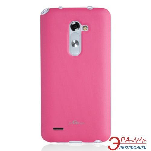 Чехол VOIA LG Optimus G3 S (D724) - Jell Skin (Pink)