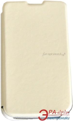 Чехол VOIA LG Optimus L3II Dual - Flip Case (White)