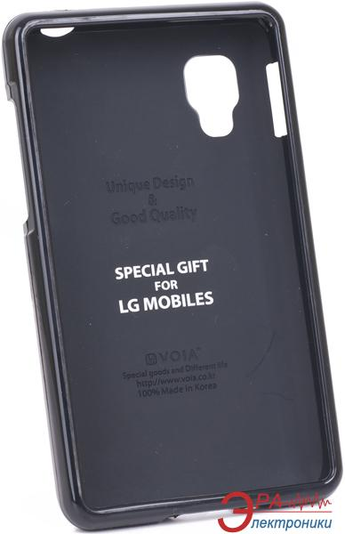 Чехол VOIA LG Optimus L4II - Jelly Case (Black)