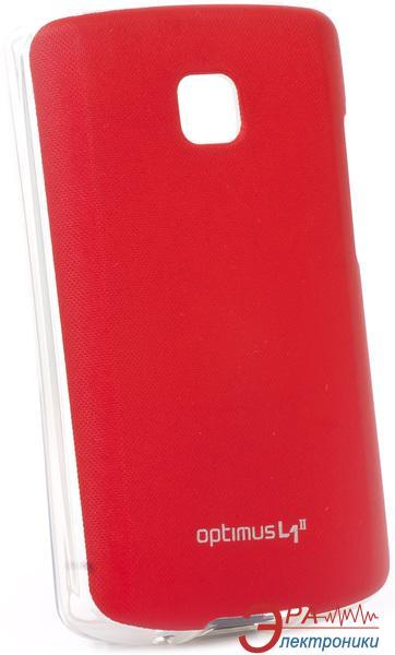 Чехол VOIA LG Optimus L1II - Jell skin (Red)