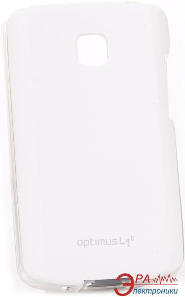 Чехол VOIA LG Optimus L1II - Jell skin (White)