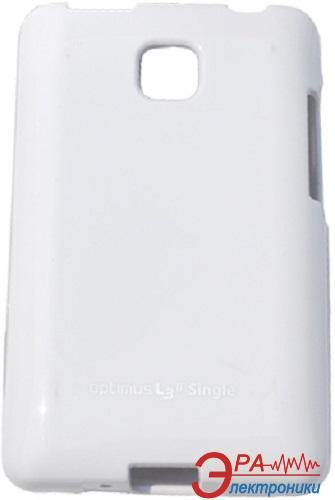 Чехол VOIA LG Optimus L3II Dual - Jelly Case (White)
