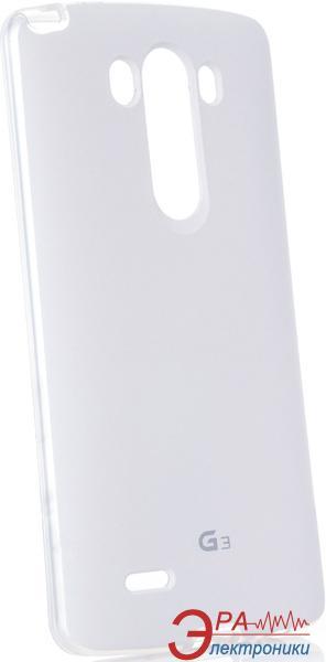 Чехол VOIA LG Optimus G 3 - Jell Skin (White)