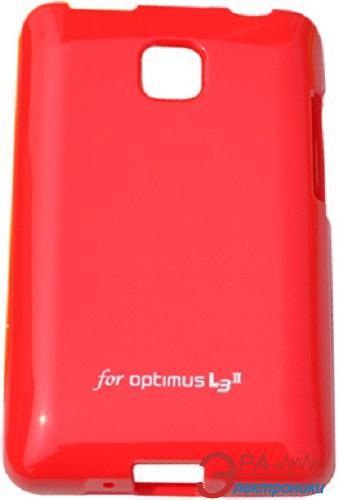 Чехол VOIA LG Optimus L3II Dual - Jelly Case (Red)