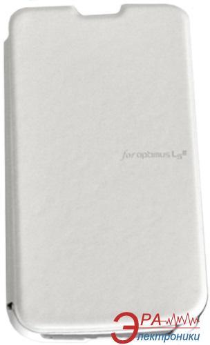 Чехол VOIA LG Optimus L4II Dual - Flip Case (White)